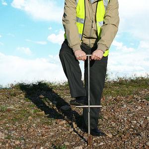 soil sampler / for environmental analysis / stainless steel