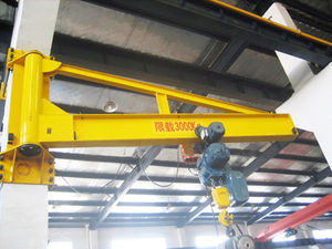 single-girder wall traveling jib crane