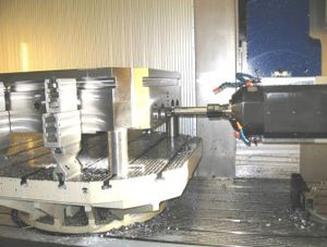metal drilling machining