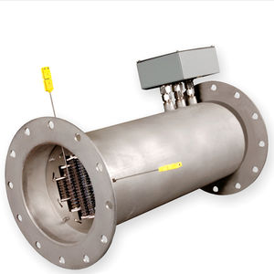 duct heater / air / for process gas / for exhaust gas