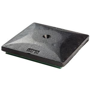 square anti-vibration mount