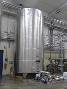 Industrial factory bulk food concentrates
