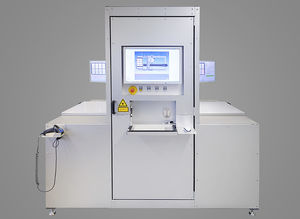 visual inspection machine / for the electronics industry / for printed circuit boards / defect