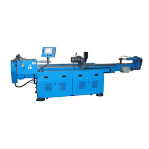 electro-hydraulic bending machine / for tubes / mandrel / mobile