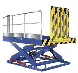 lifting platform / loading / hydraulic
