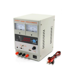 AC/DC power supply / variable-output / with short-circuit protection / with USB outlet