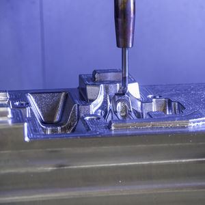 aluminum milling machining / steel / stainless steel / nickel