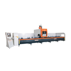 4-axis CNC machining center / swiveling-spindle / gantry / column type