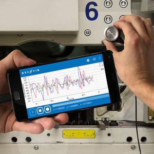 MEMS vibration sensor / magnetic / electronic / micromechanical accelerometer