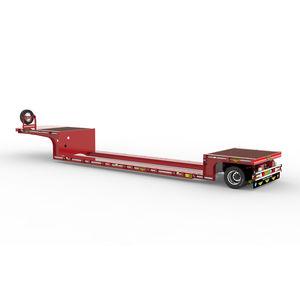 single-axle semi-trailer