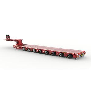 8-axle semi-trailer