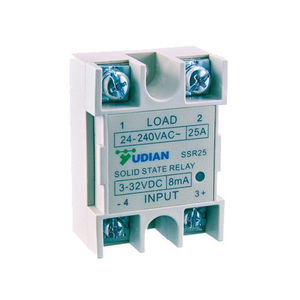 DC solid state relay / DC output / miniature / single-phase