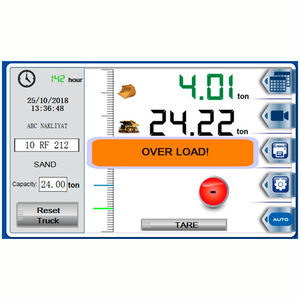 loader onboard weighing system