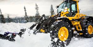 loader snow-plow