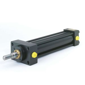 hydraulic cylinder / single-acting / double-acting / compact