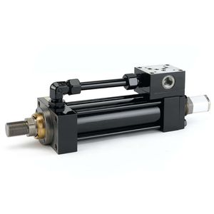 hydraulic cylinder / compact / ISO / low-friction