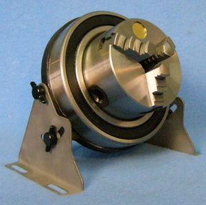 manual tightening turning chuck / 3-jaw / lathe / gripper