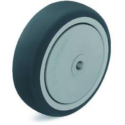wheel with solid tire / thermoplastic / non-marking / low-noise