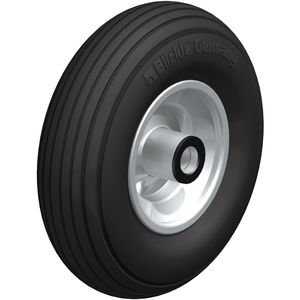wheel with pneumatic tire / steel / low-noise
