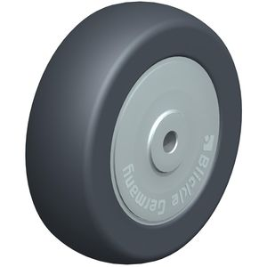 wheel with solid tire / rubber / light-duty / low-noise