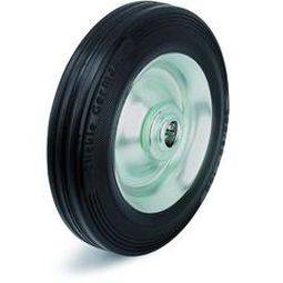 wheel with solid tire / steel / for heavy loads / low-noise