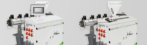 profile extruder / for PVC / for PP / for PE
