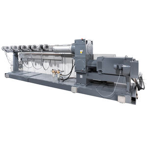 tube extruder / for PP / for HDPE / single-screw