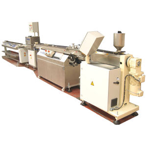 tube extrusion line / profile / for thermoplastics / multilayer