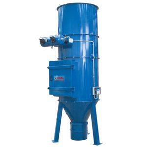 cartridge dust collector / pneumatic backblowing / chemical process