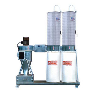 inertial separator dust collector