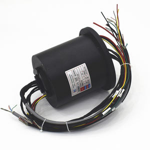 hollow-shaft slip ring / for rotary tables / for packaging / for small rotating systems