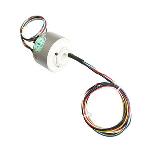 Ethernet slip ring / USB / through-bore / pancake type