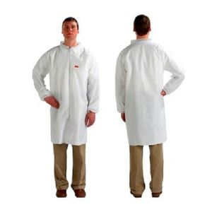 work lab coat / anti-static / laminated material / for the food industry