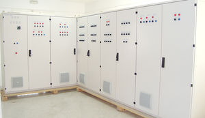equipped distribution panel