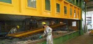 large series galvanizing