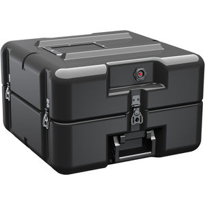 protective case / polyethylene / military / with handle