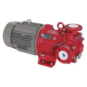 magnetic-drive pump / for chemicals / self-priming / peripheral