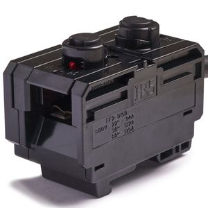 DIN rail-mounted terminal block - All industrial