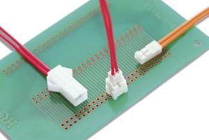 wire-to-board connector / IDE / parallel / crimp