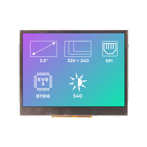 LED display modules / TFT / 320 x 240 / built-in