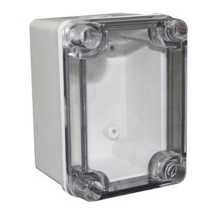 enclosure with metric knockouts