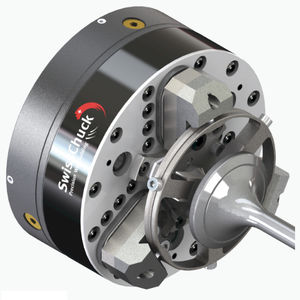 floating workpiece clamping chuck