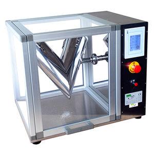 powder blender / V / batch / for the pharmaceutical industry