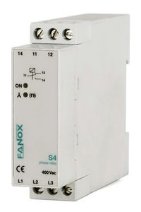 phase sequence control relay / phase loss / phase unbalance / DIN rail