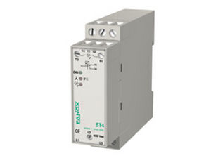 phase sequence control relay / phase loss / phase unbalance / temperature
