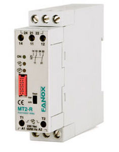 temperature protection relay / for electric motors / DIN rail