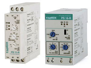 overload relay / over-current / time delay / for electric motors