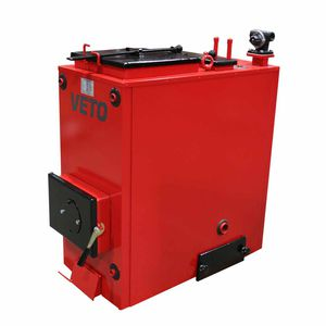 hot water boiler / wood