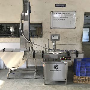rotary capping machine / automatic / semi-automatic / multi-container
