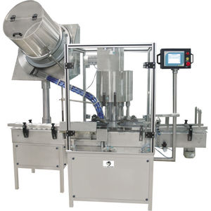 rotary screw capping machine / multi-head / automatic / fully-automatic